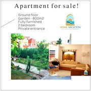 Apartment with 800 m2 garden