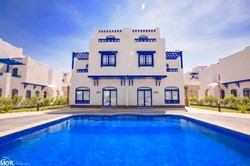 Villa with a sea view at Amaros