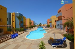 For sale Spacious unfurnished 183 sqm apartment with 3 shared pools, gardens and sea view in Al Dora