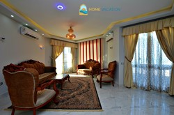 large fully furnished 3 bedroom apartment with a clear sea view