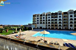 Luxurious two bedroom apartment with pool view for sale at Samra Bay Resort