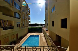 For sale unfurnished 135 sqm, 3 bedrooms apartment with shared pool