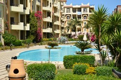 Sea view apartment in Sahl Hasheesh