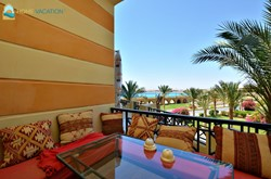 Two-bedroom apartment with a sea view in Andalous