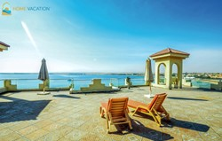 Sea and pool view apartment for sale at Andalous