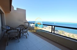 Stylish Two-Bedroom Apartment With Direct Seaview For Rent In The View Residence